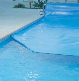 Couverture à bulles pour piscines