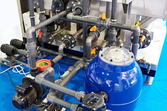 système de filtration complet pour piscine