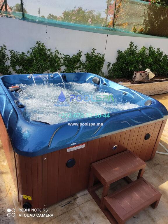 PoolSPA Maroc installation jacuzzi client